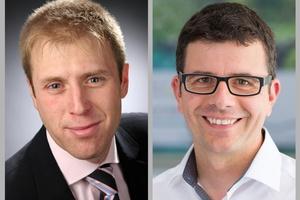Die neuen IBZ-Sprecher Markus Staudt (links) und Alexander Dauensteiner (rechts) stehen einem Konsortium von 13 Mitgliedern vor.  (Foto: IBZ)